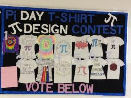 MCHS PI DAY T-SHIRT DESIGNS