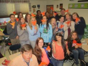 Nov 25 orange butterflies hit the preterit 014