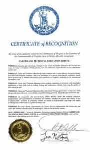 CTE Proclamation