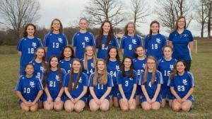 MCHS JV Girls Soccer 2016
