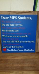 MCPS Sign
