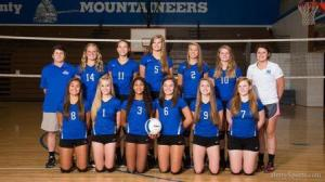 MCHS Varsity Volleyball 2016