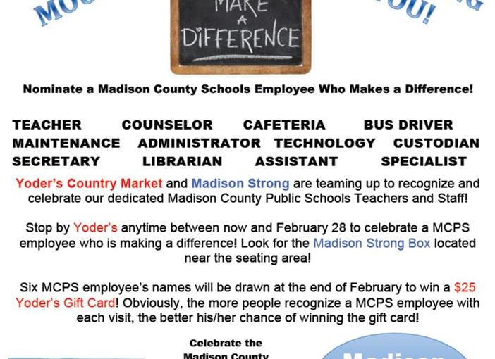 District News – Page 17 – Madison County Public Schools