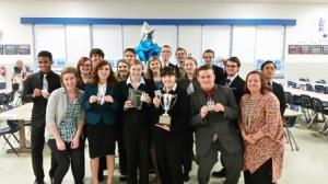 Forensics Team at Regional Competition