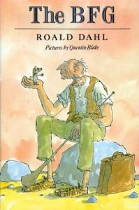 Cover of book by Roald Dahl, The BFG
