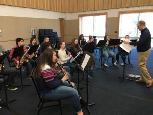 UVA'S Dr. Koch Leads MCHS Band