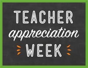 Teacher Appreciation Week Logo